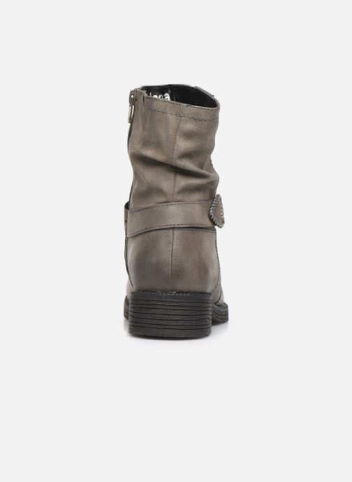 Botines  Jana shoes ALBI Gris vista lateral derecha