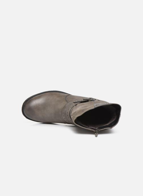 Botines  Jana shoes ALBI Gris vista lateral izquierda