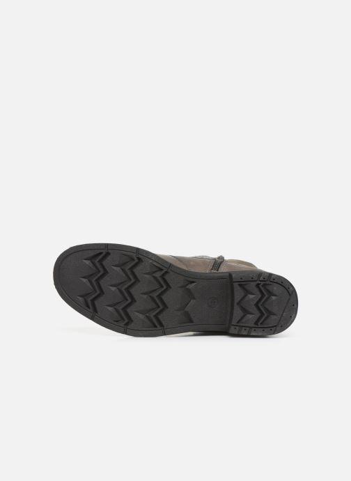 Stivaletti e tronchetti Jana shoes ALBI Grigio immagine dall'alto