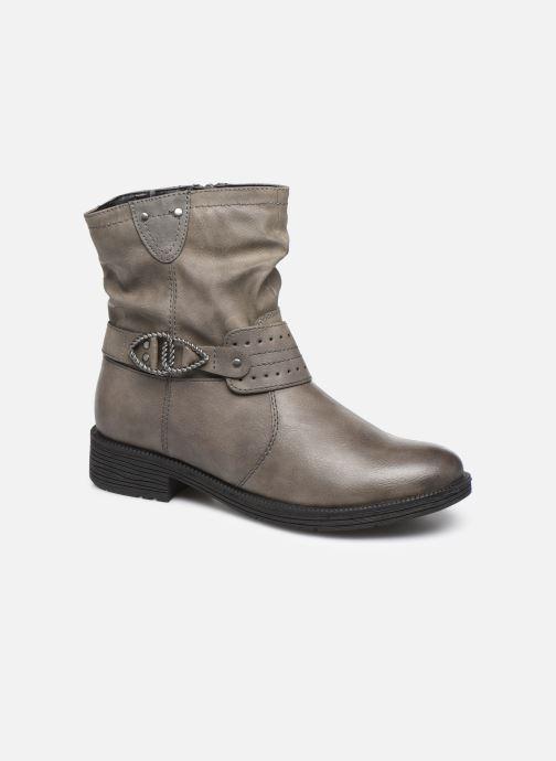 Bottines et boots Jana shoes ALBI Gris vue détail/paire