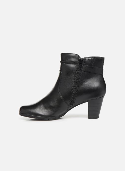 Ankle boots Jana shoes DOUGLAS NEW Black front view
