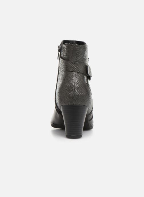 Botines  Jana shoes DOUGLAS NEW Gris vista lateral derecha