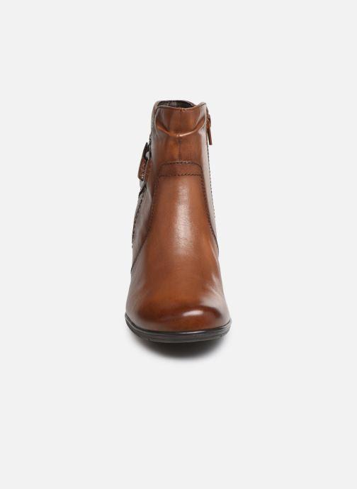 Bottines et boots Jana shoes DOUGLAS NEW Marron vue portées chaussures