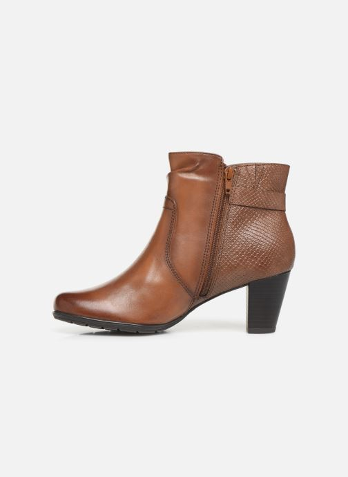 Ankle boots Jana shoes DOUGLAS NEW Brown front view