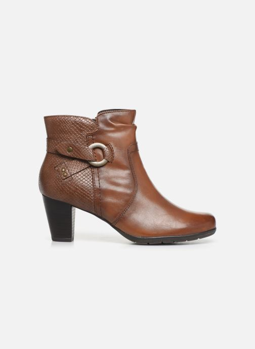 Ankle boots Jana shoes DOUGLAS NEW Brown back view