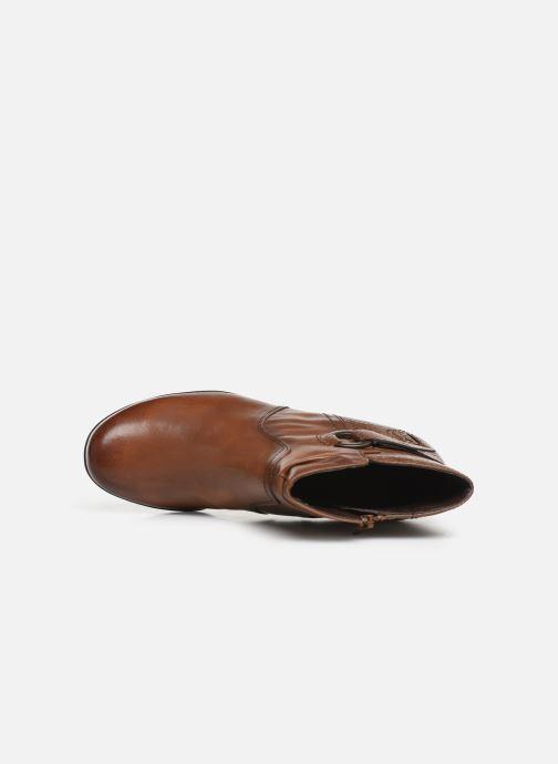 Ankelstøvler Jana shoes DOUGLAS NEW Brun se fra venstre