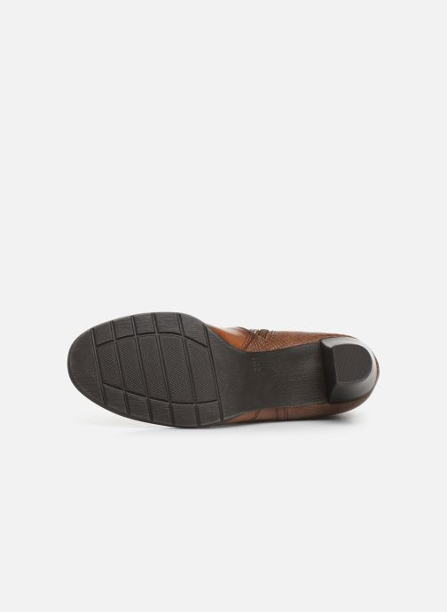 Boots en enkellaarsjes Jana shoes DOUGLAS NEW Bruin boven