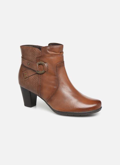 Ankelstøvler Jana shoes DOUGLAS NEW Brun detaljeret billede af skoene