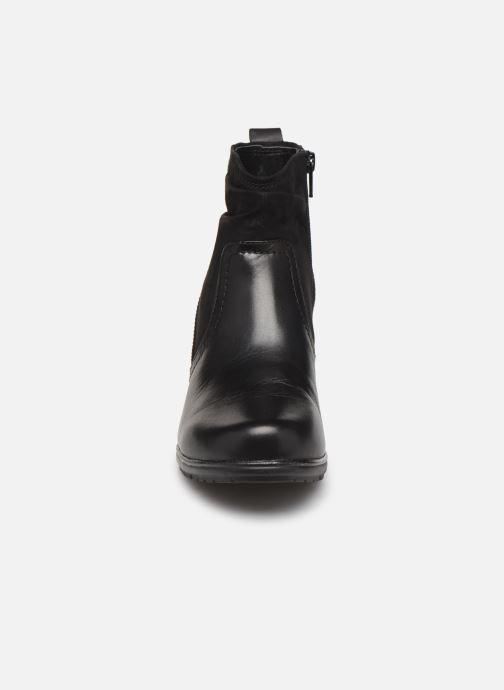 Bottines et boots Jana shoes ZARI NEW Noir vue portées chaussures