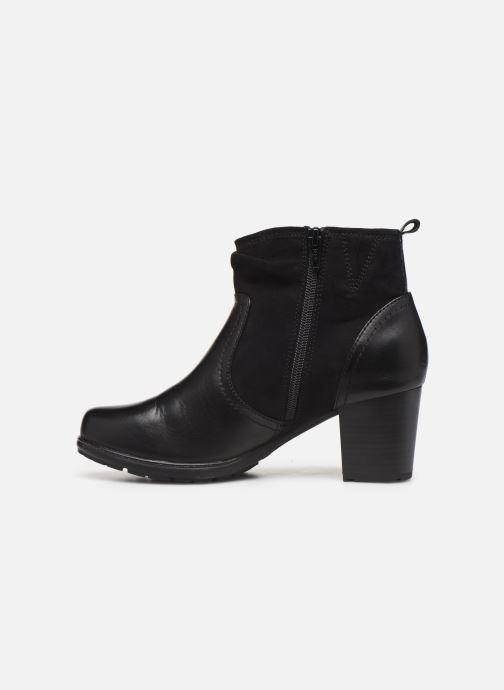 Bottines et boots Jana shoes ZARI NEW Noir vue face