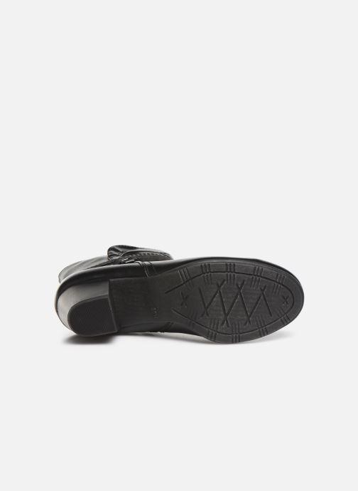 Bottines et boots Jana shoes MURRAY NEW Noir vue haut