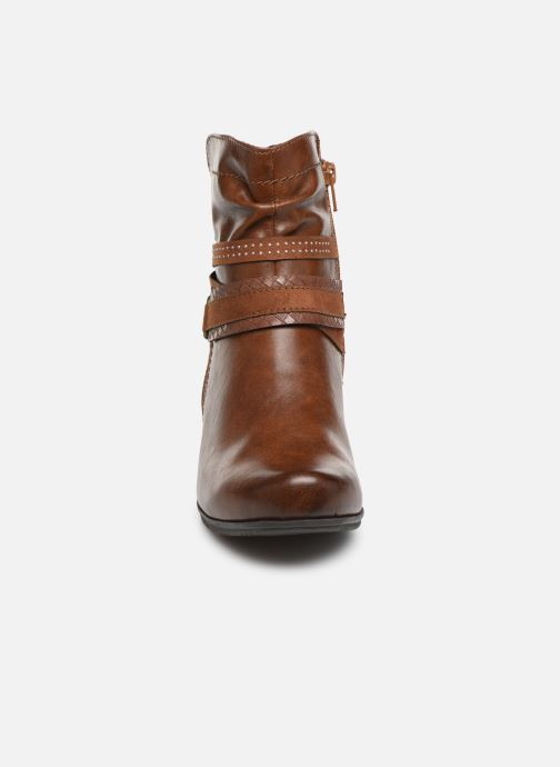 Ankle boots Jana shoes MURRAY NEW Brown model view