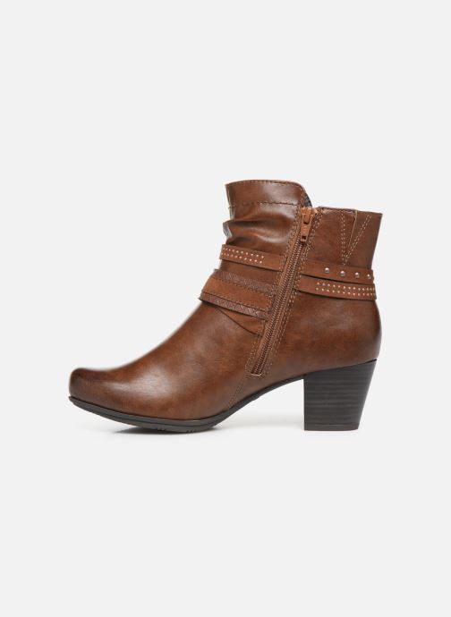 Ankle boots Jana shoes MURRAY NEW Brown front view
