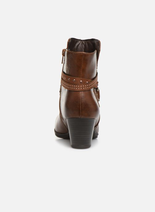 Ankle boots Jana shoes MURRAY NEW Brown view from the right