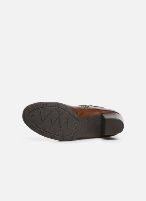 Ankle boots Jana shoes MURRAY NEW Brown view from above