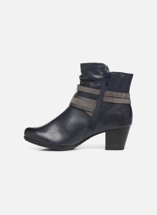 Bottines et boots Jana shoes MURRAY NEW Bleu vue face