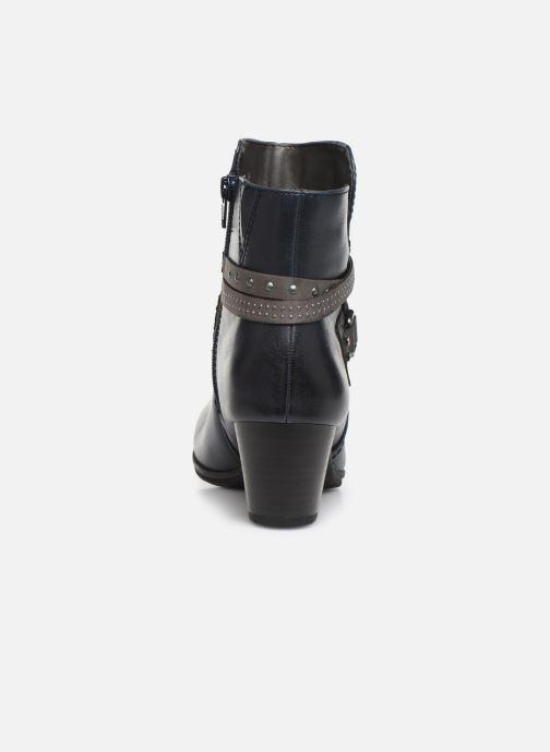 Bottines et boots Jana shoes MURRAY NEW Bleu vue droite