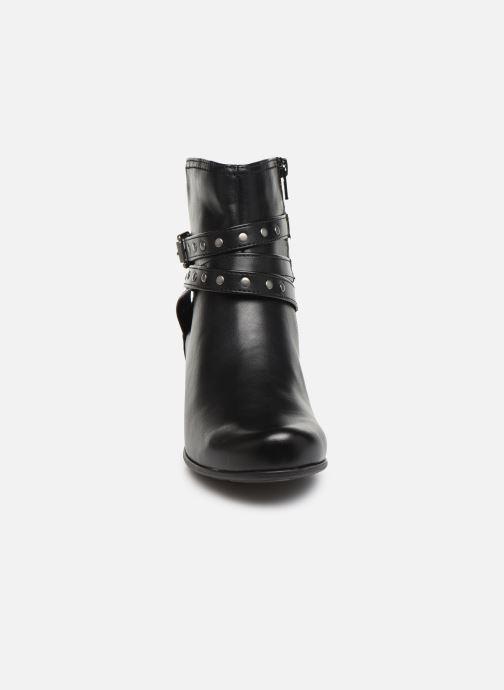 Bottines et boots Jana shoes ELSA Noir vue portées chaussures