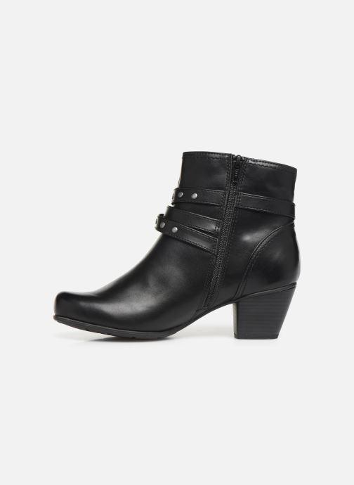Bottines et boots Jana shoes ELSA Noir vue face