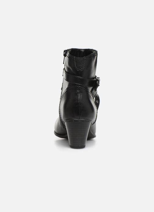 Bottines et boots Jana shoes ELSA Noir vue droite