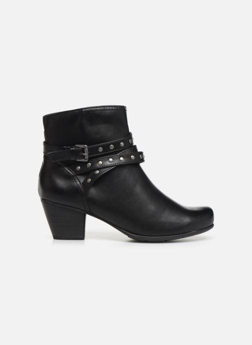 Bottines et boots Jana shoes ELSA Noir vue derrière