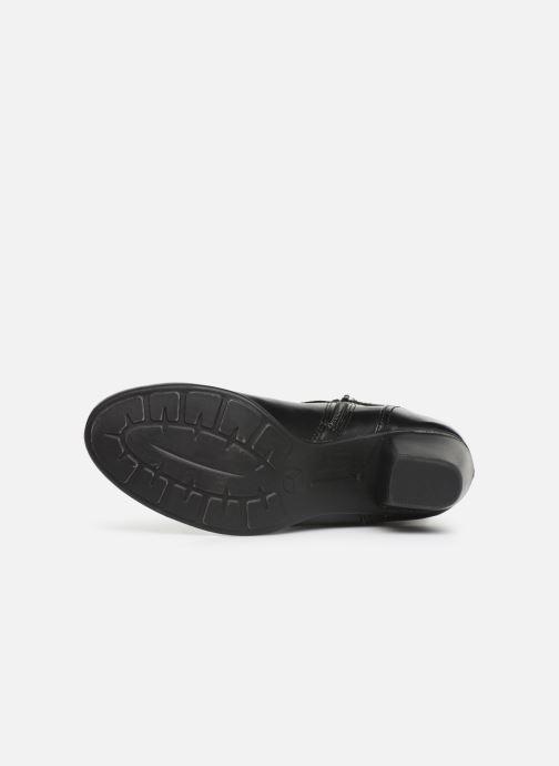 Bottines et boots Jana shoes ELSA Noir vue haut