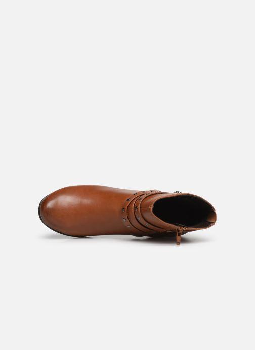 Boots en enkellaarsjes Jana shoes ELSA Bruin links