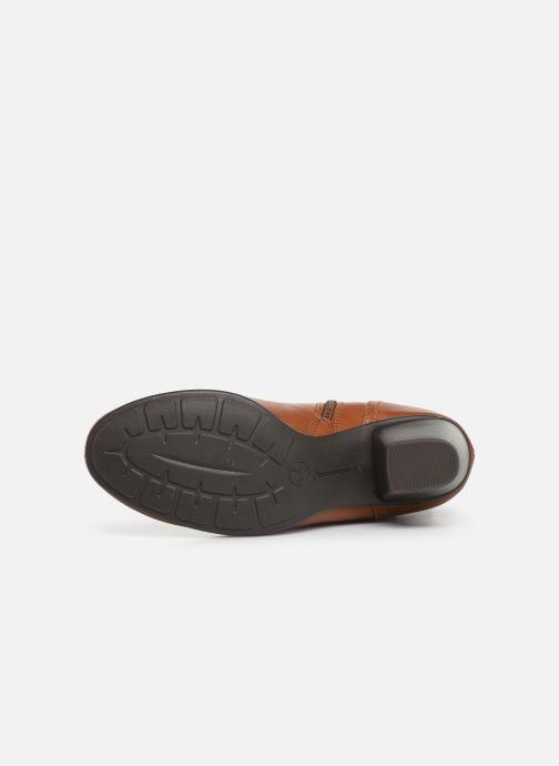 Bottines et boots Jana shoes ELSA Marron vue haut