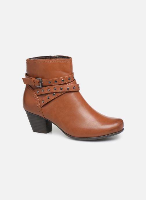 Bottines et boots Jana shoes ELSA Marron vue détail/paire