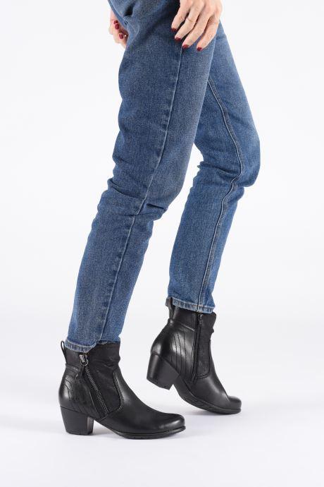 Bottines et boots Jana shoes BASTOS NEW Noir vue bas / vue portée sac