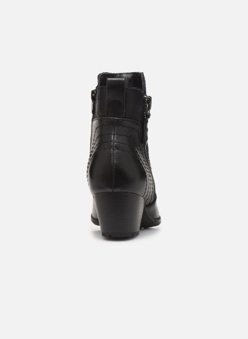 Bottines et boots Jana shoes BASTOS NEW Noir vue droite