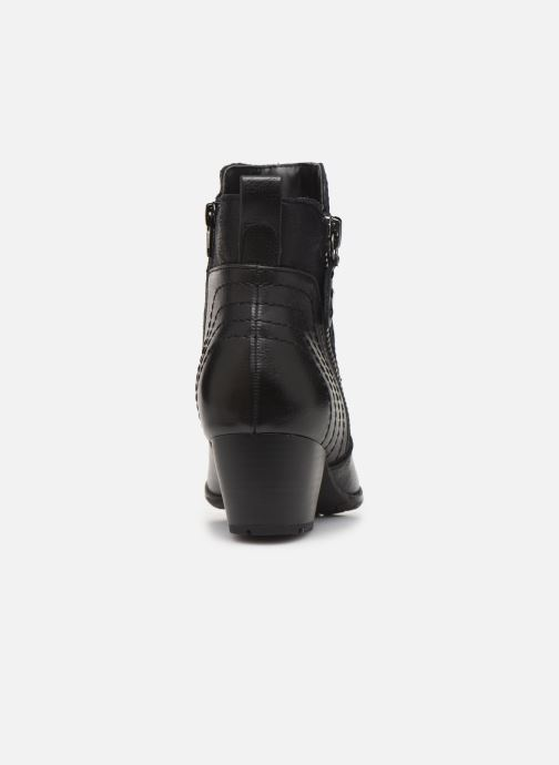 Boots en enkellaarsjes Jana shoes BASTOS NEW Zwart rechts