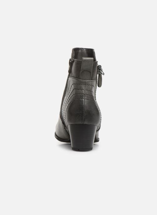 Botines  Jana shoes BASTOS NEW Gris vista lateral derecha