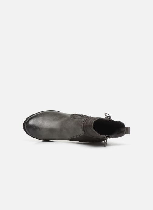 Botines  Jana shoes BASTOS NEW Gris vista lateral izquierda