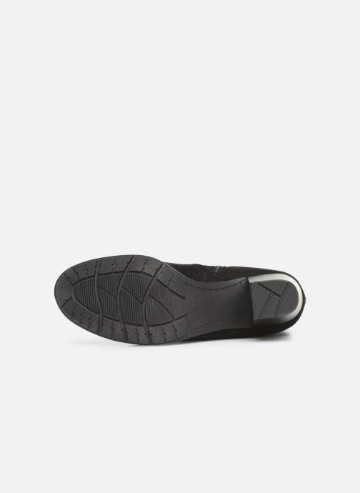 Bottines et boots Jana shoes ILDA NEW Noir vue haut