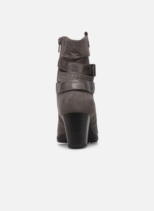 Boots en enkellaarsjes Jana shoes ILDA NEW Grijs achterkant