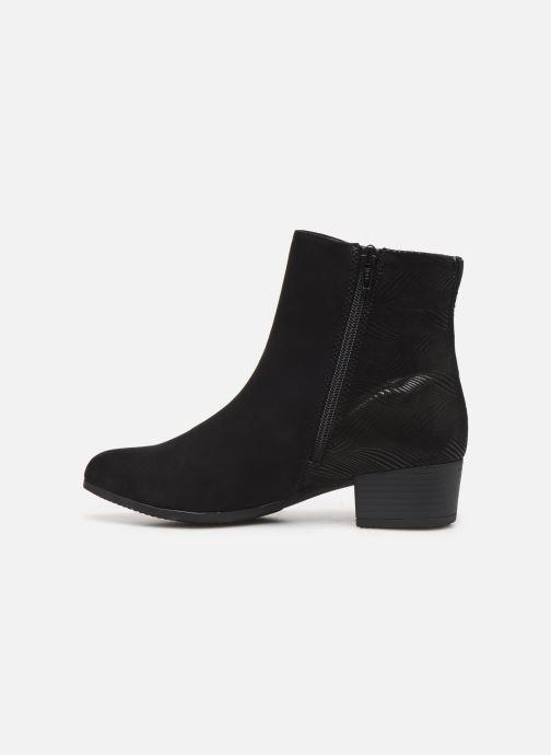 Boots en enkellaarsjes Jana shoes FARAH Zwart voorkant