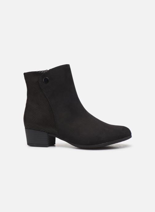 Boots en enkellaarsjes Jana shoes FARAH Zwart achterkant