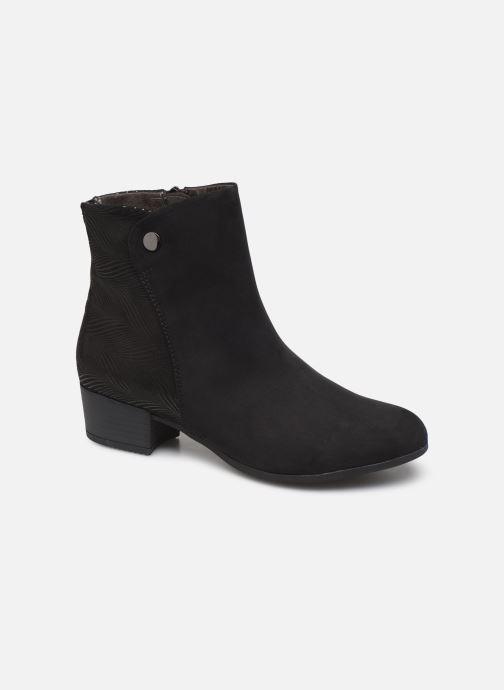 Boots en enkellaarsjes Jana shoes FARAH Zwart detail