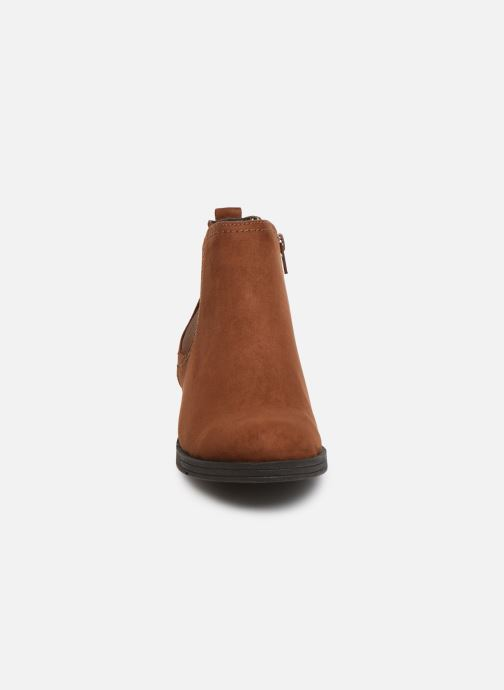 Ankle boots Jana shoes HARRY Brown model view