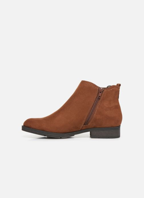 Ankle boots Jana shoes HARRY Brown front view