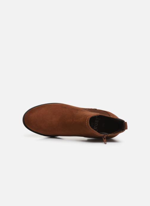 Boots en enkellaarsjes Jana shoes HARRY Bruin links