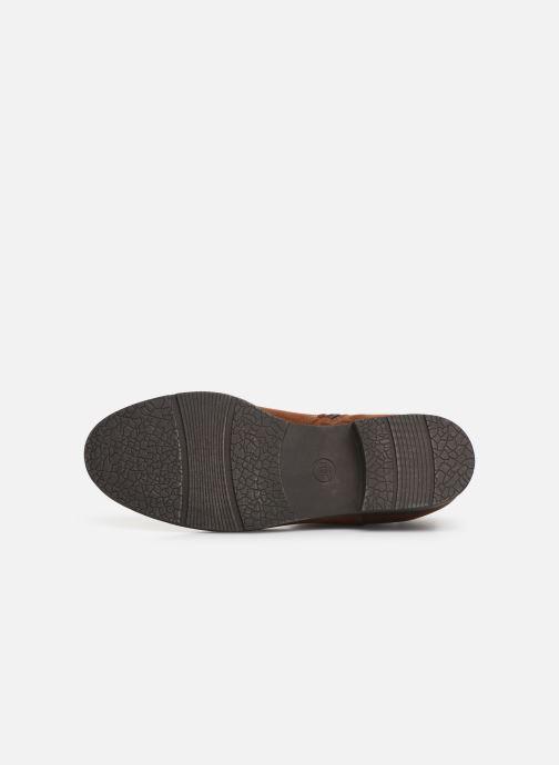 Boots en enkellaarsjes Jana shoes HARRY Bruin boven