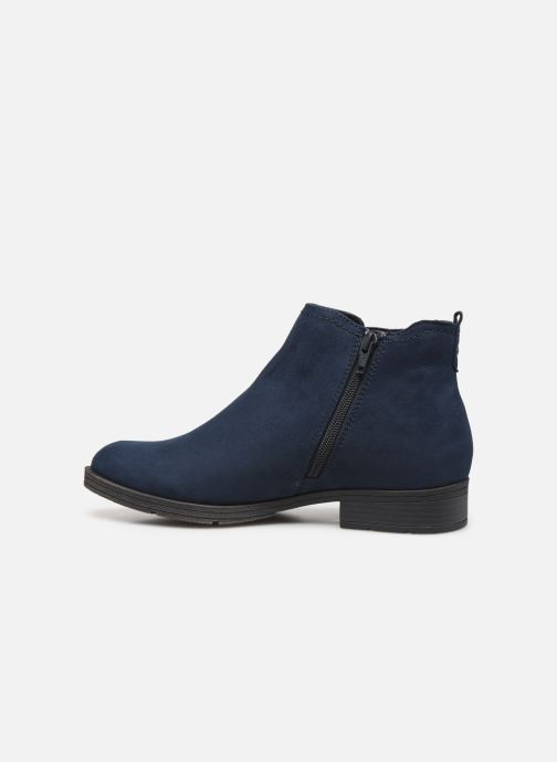 Ankle boots Jana shoes HARRY Blue front view