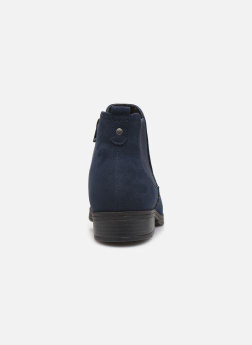 Botines  Jana shoes HARRY Azul vista lateral derecha