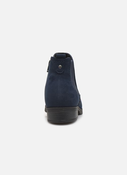 Bottines et boots Jana shoes HARRY Bleu vue droite