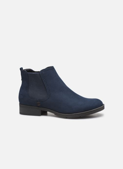 Ankle boots Jana shoes HARRY Blue back view