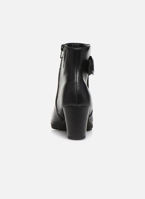 Ankle boots Jana shoes KATH Black view from the right