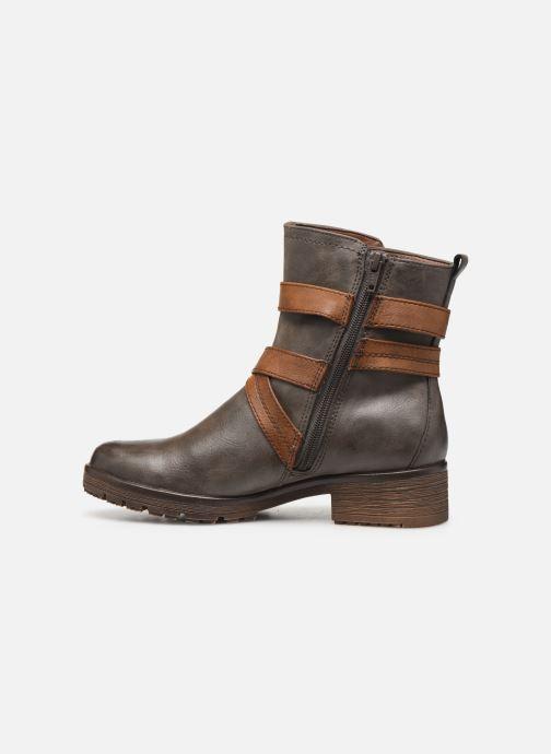 Boots en enkellaarsjes Jana shoes SIDONIE Bruin voorkant
