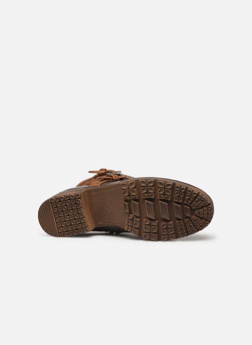 Boots en enkellaarsjes Jana shoes SIDONIE Bruin boven